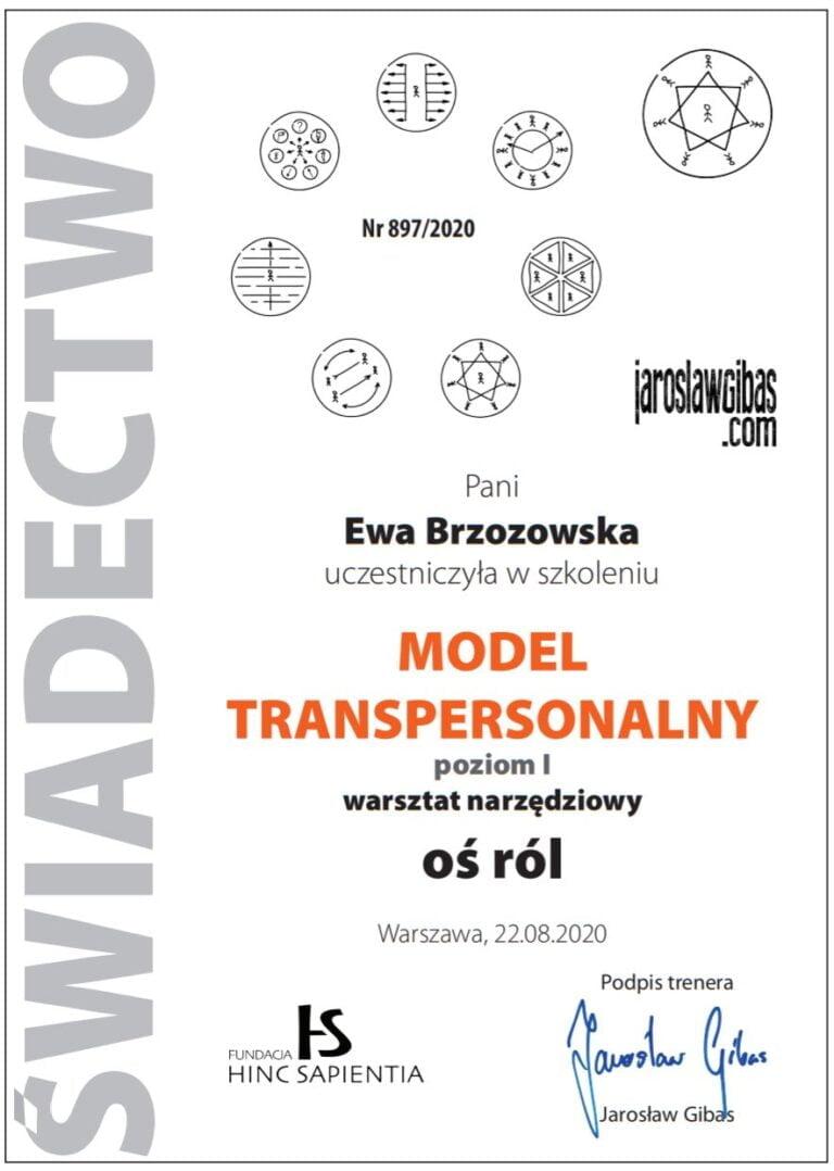 Ewa-Brzozowska-Model-Transpersonalny-os-rol Jaroslaw Gibas